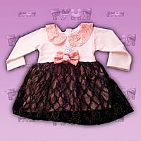 """Детское нарядное платье """"Принцесса"""" для девочек на 1-2 год"""