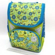 "Рюкзак для девочки J.Otten JO-1704 13,5"" 3отд., ортоп., светоотраж. ""Butterfly"" (6)"