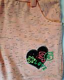 Комбинезон С шортами На 4 года Размер 110 Персиковый Хлопок 156-59(110) Турция , фото 5