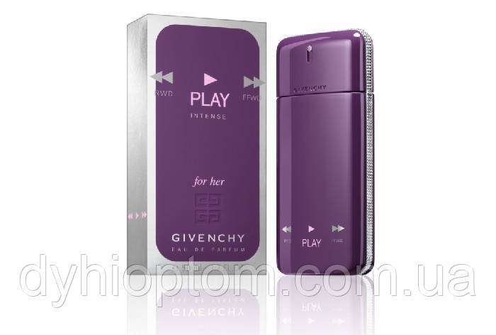 Лицензированная парфюмерия Givenchy Play For Her Intense 75ml
