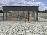 Строительство и проектирование коммерческих зданий из металлоконструкции (супермаркеты, магазины)!