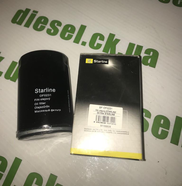 Фильтр масляный LDV Maxus 2,5TD 05- Starline