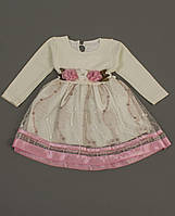 """Детское нарядное  платье  """"Снежинка"""" для девочек 2,3,4 года"""