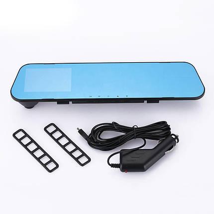 Зеркало заднего вида с видеорегистратором DVR FullHD 1080p B1 c 2ся камерами, фото 2