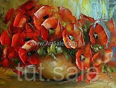Купить картину цветы МАКИ