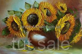 Купить картину цветы ПОДСОЛНУХИ