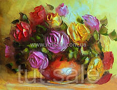 Купить картину цветы РОЗЫ