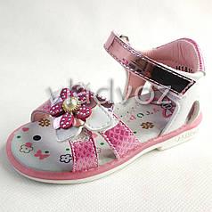Детские босоножки сандалии для девочек, девочки 21р. малиновый Y.Top