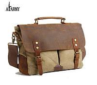 Стильный кожаный мужской портфель Akarmy пополнил каталог нашего интернет-магазина.