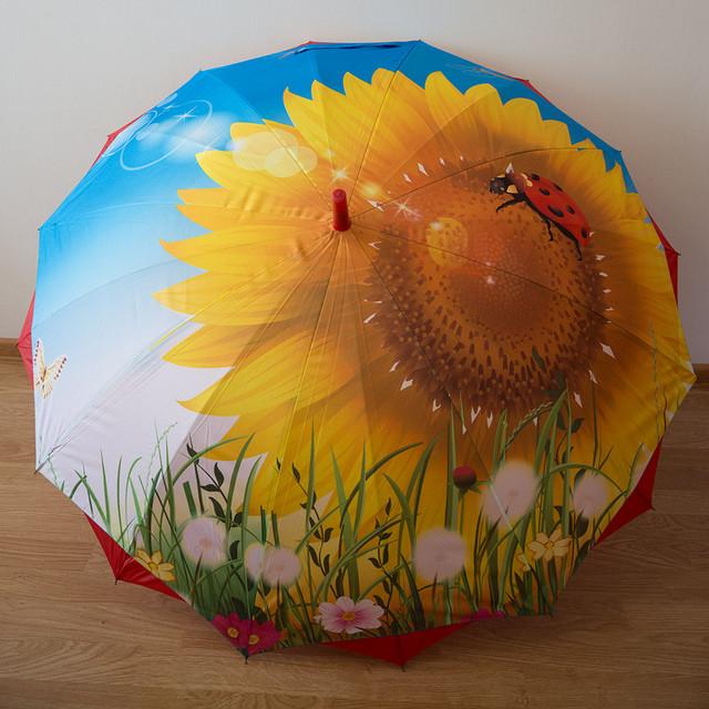 Яркий женский зонт-трость