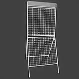 Стенд (стойка) металлический под очки 210 мест с  ЗЕРКАЛОМ, фото 2
