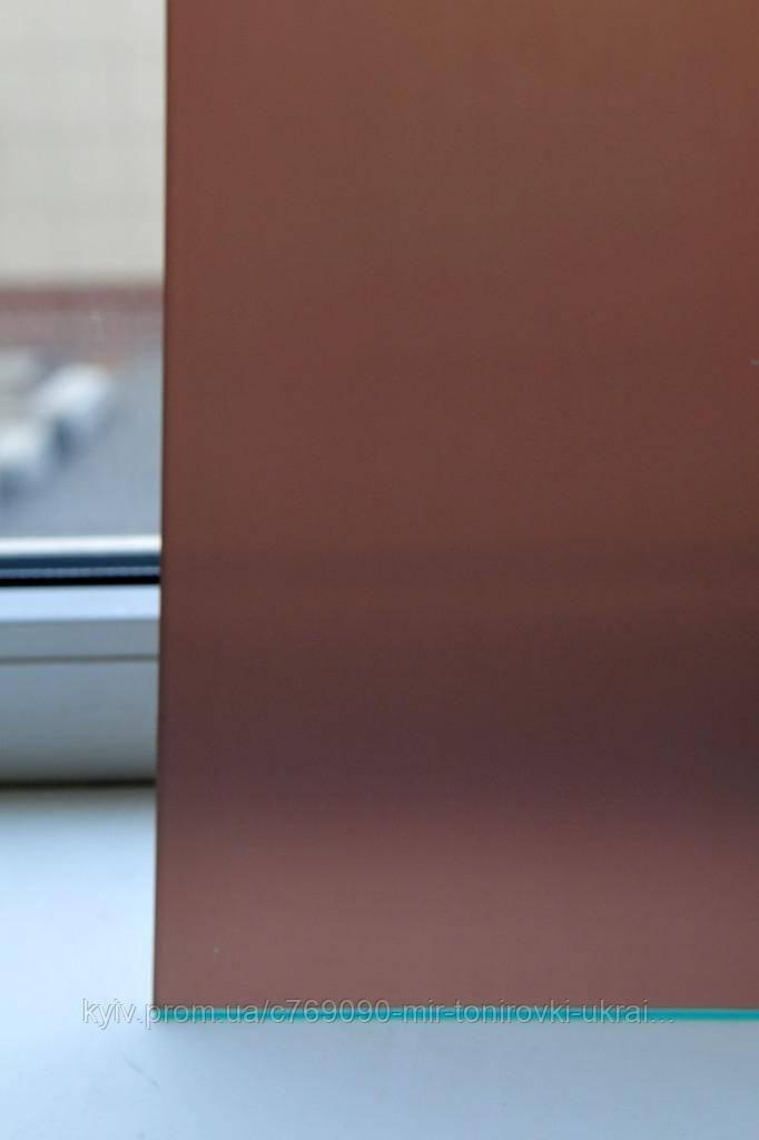 Тонировочная пленка коричневая матовая