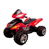 Детский электрический квадроцикл с пультом M 3101 (MP3) EBLR-2 красный,мягкое сиденье,мягкие колеса