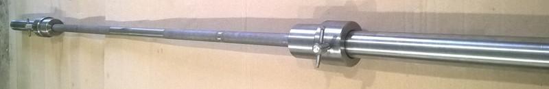 Олимпийский гриф для штанги 2,2 м с замками