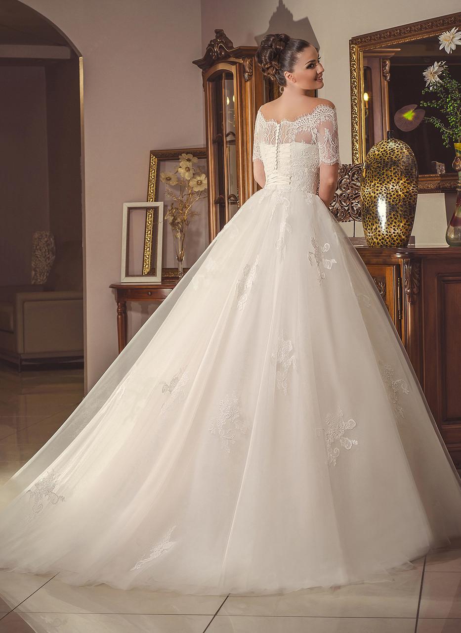 Свадебное платье модель № 1494n