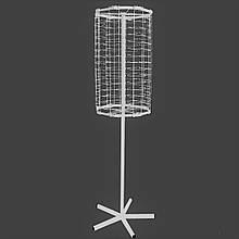 Металева вертушка для продажу окулярів 90 місць від виробника