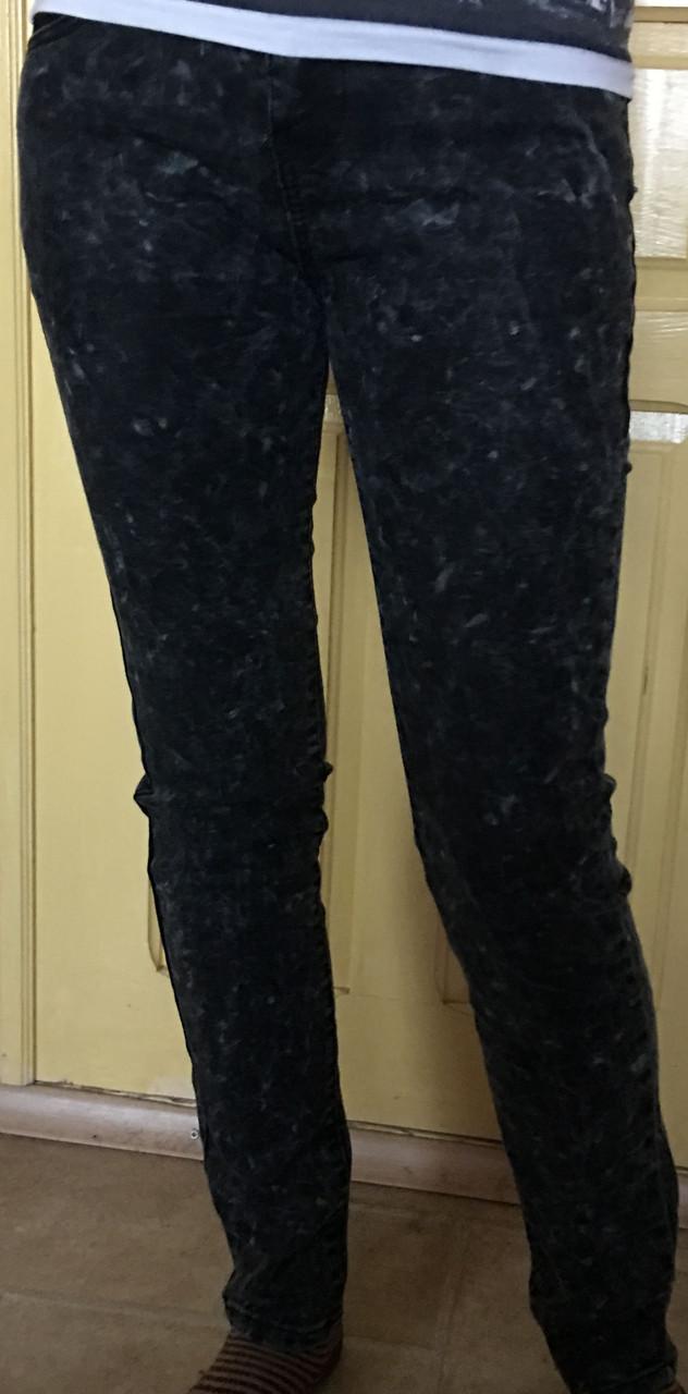 Черные джинсы варенки, XS
