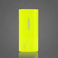 Портативное зарядное устройство (Power Bank) Proda 5000 mAh (Green), фото 1