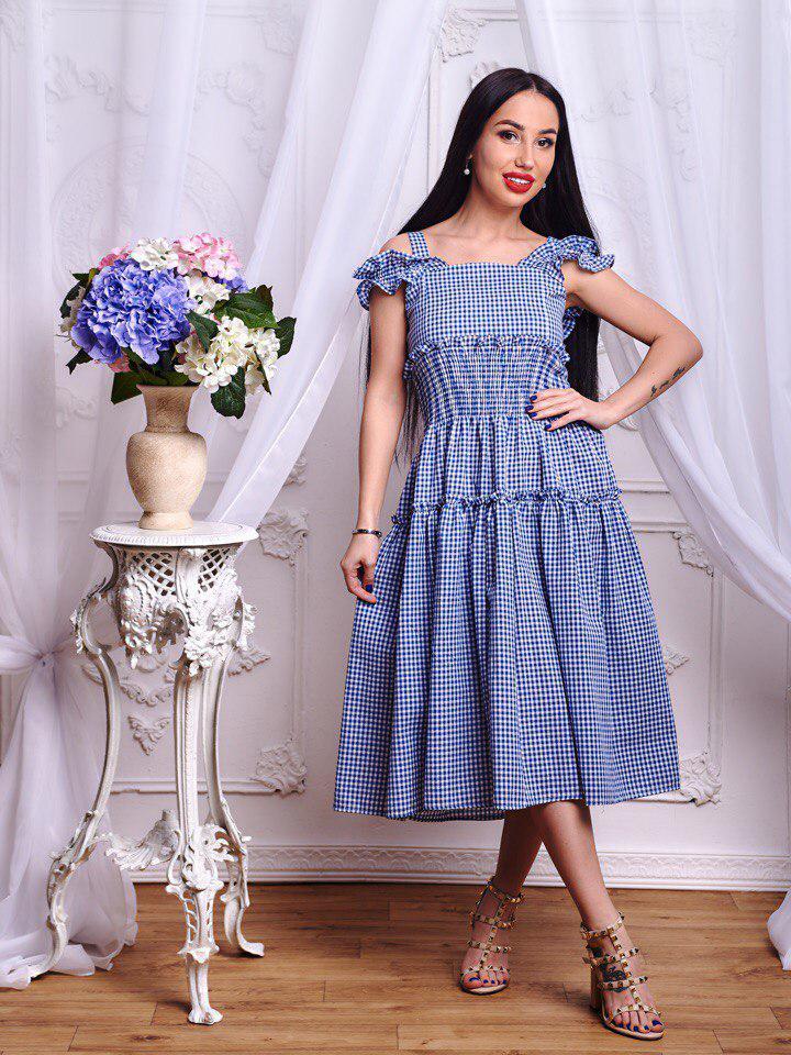 2e50ad86c10f Невероятно красивое платье в модную клетку