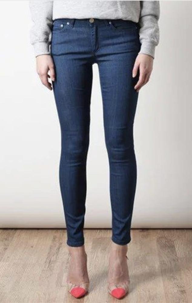 Жіночі сині джинси, L