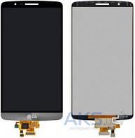 Дисплей (экран) для телефона LG G3 D855 + Touchscreen Original Black