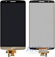 Дисплей (экран) для телефона LG G3 D855 + Touchscreen Original Gold