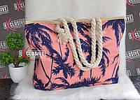 Женская пляжная сумка Пальмы, фото 1