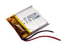 Аккумулятор универсальный 032323 (Li-ion 3.7В 300мА·ч), (23*23*3 мм)