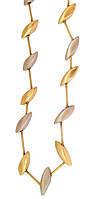 Золотое колье гарнитур с браслетом