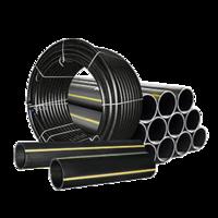 Труба полиэтиленовая ПЭ-100 SDR 11 PN10 Dn 110 мм газопровод