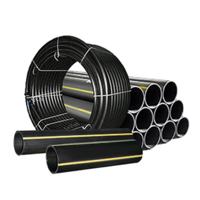 Труба полиэтиленовая ПЭ-100 SDR 17.6 PN6 Dn 110 мм газопровод