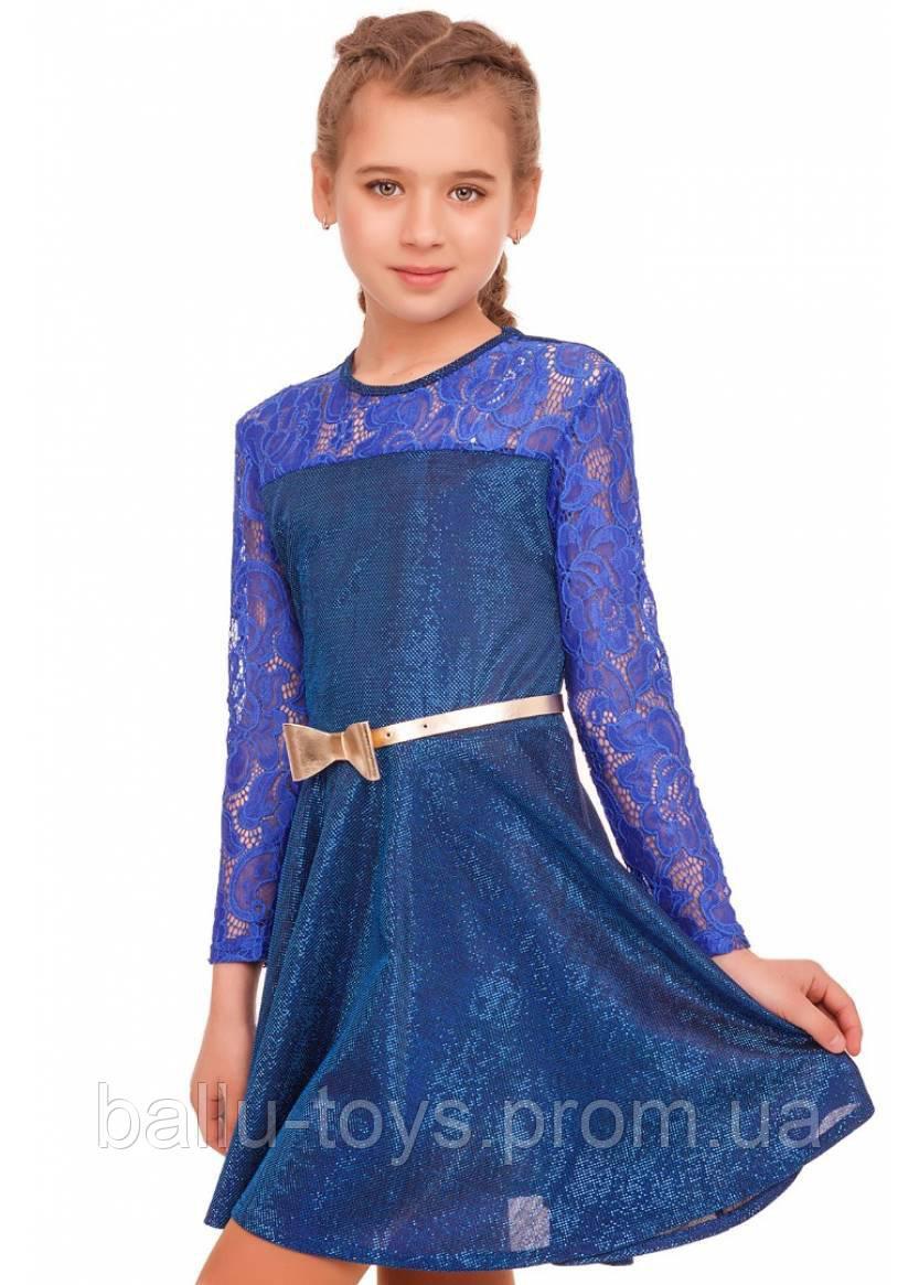 Красивое нарядное платье для девочек Вера (6-10 лет)