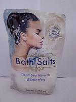 Натуральная соль мертвого моря Dr. Mud белая