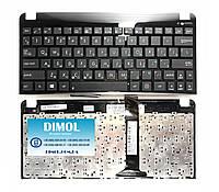 Оригинальная клавиатура для ноутбука Asus Eee PC 1011, 1015, 1016, 1018, 1025c, 1025ce series, rus, black