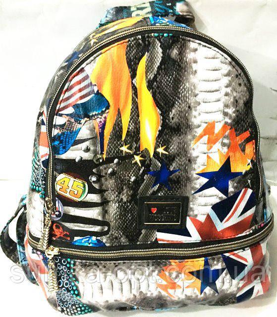 1f83af5ac3b0 Городские рюкзаки кожзам опт (принт)25*30: продажа, цена в Харькове ...
