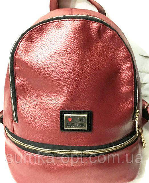 5c70b2ca9e46 Городские рюкзаки кожзам опт (красный)25*30: продажа, цена в ...
