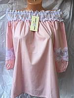 Женская блузка летня кружево оптом