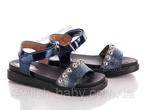 Дитяча колекція літнього взуття 2018. Дитячі босоніжки бренду С. Промінь для дівчаток (рр. з 30 по 37), фото 2