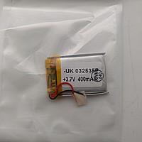 Аккумулятор универсальный 032535 (Li-ion 3.7В 400мА·ч), (35*25*3 мм)