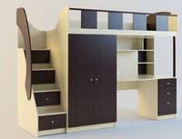 Детская кровать-чердак Пикник, фото 1