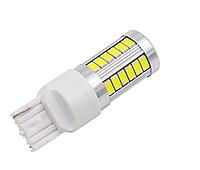 Автолампа LED, W21W, 7440, 33 SMD 5630, 12V, Белая, фото 1