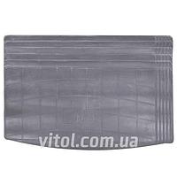 Коврики автомобильные в багажник GZ UNI MINI GY серый, размер: 1020х680 см, резиновый, коврики для салона авто, коврики резиновые авто, коврики