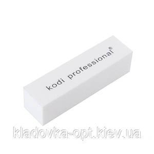 Профессиональный бафик-брусок для ногтей Kodi Professional 120/120