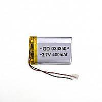 Акумулятор універсальний 033350 (Li-ion 3.7 В 1000мА·год), (50*33*3 мм)