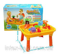 Стол-песочница для игры с водой и песком «Аквапарк» 0832, фото 3