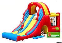 Детский надувной батут HAPPY-HOP Мега Горка игровой центр с горкой 9082 N HAPPY-HOP