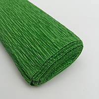 Гофрированная бумага зелёная, фото 1