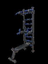Шведська стінка спортивна «Fitness Pro m.2 ТМ Затишок Спорт» (Black)