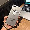 ЧехолнакладканаiPhone7 Plus/8plusпрозрачныйсмопсомнапалочке