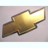 Эмблема на решетку капота крест на Шевроле Авео Т 255 хэтчбэк GM 96808252